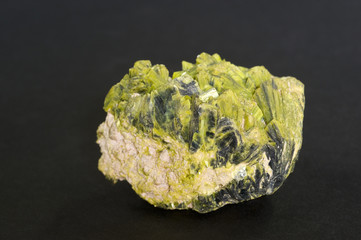 radioactive Autunite from Washington, USA. 4.8cm across.