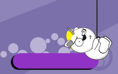 unicorn baby cute cartoon background0