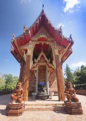 Church Wat Phu Khao Kaew . Ubon Ratchathani  in Thailand
