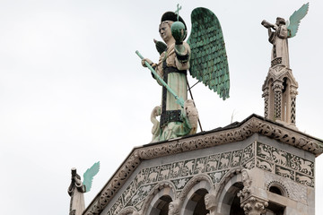 Statue of St. Michael the Archangel