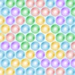 Abstract balls background