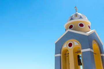Greek Church And Cross