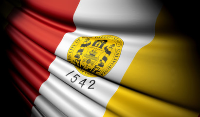 Flag of San Diego (USA)