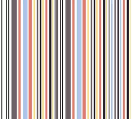Retro vertical striped seamless pattern