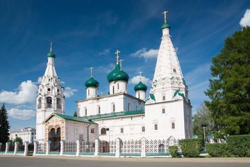 Древняя церковь Ильи пророка в Ярославле, Россия