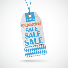 Oktoberfest Price Sticker Sale