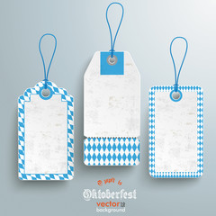 3 Bavarian Price Stickers