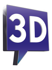 Sprechblase 3D