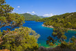 Lake at island Mljet in Croatia