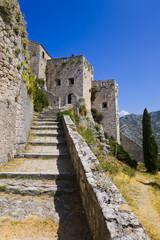 Old fort in Klis, Croatia