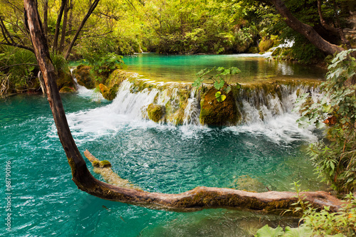 Plitvice lakes in Croatia - 68790196