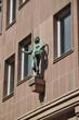 Statue an einem Haus in Nürnberg