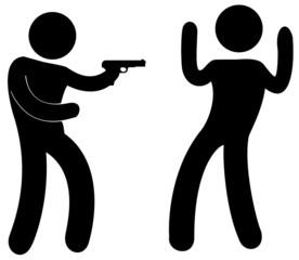 agression avec arme à feu