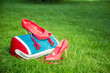 Women's shoes are on the bag and, women's summer shoes