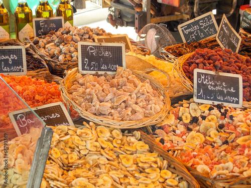 Keuken foto achterwand Boodschappen marché provençal