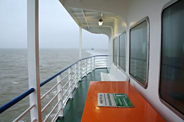 De veerboot naar Terschelling