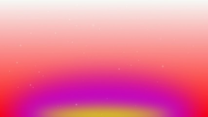flying particles with rainbow color background 1