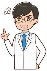 怒るドクター