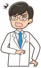 驚くドクター