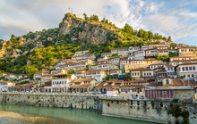 "Постер, картина, фотообои ""View at old city of Berat"""