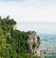 San Marino second tower: the Cesta or Fratta