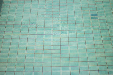Transparent water background of swimming pool