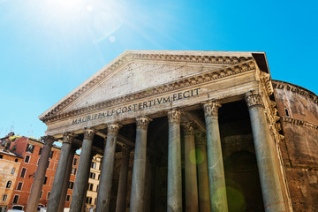 The Pantheon, Rome, Italy.