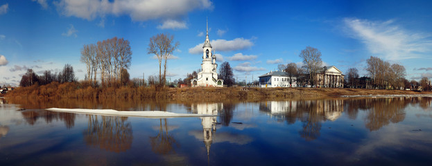 Orthodox Church, Spring Vologda, Russia