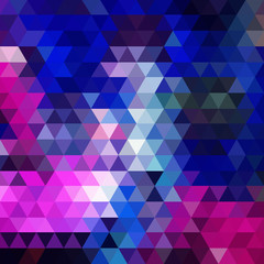 Disco triangle background