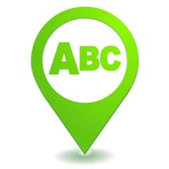 ordre alphabétique sur symbole localisation vert