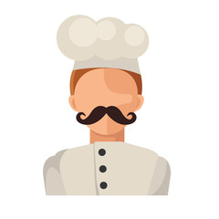 Vector Flat Chef Icon