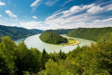 Donauschlinge, Schoegener landscape