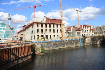 Schlossbaustelle in Berlin (August 2014)