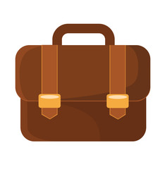 Vector Briefcase Flat Icon