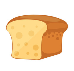 Vector Bread Flat Icon