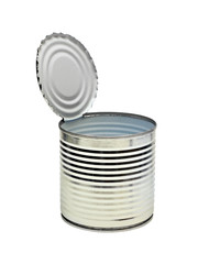 Open an empty tin can