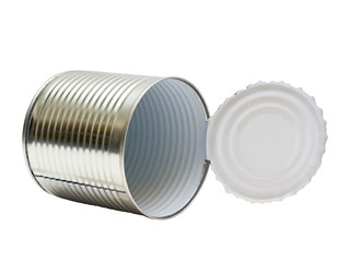 Open an empty tin can
