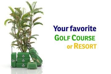 First class trip 5 stars - Golf course