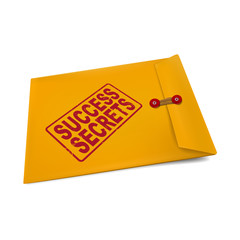 success secrets on manila envelope