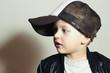 Fashionable Child.stylish little.fashion children.Hip-Hop style