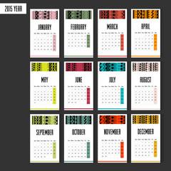 2015 european year calendar