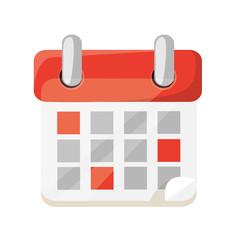 Vector Calendar Flat Icon