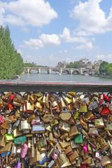 Paris cadenas de l'amour