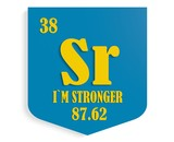 i am stronger instead stroncium poster