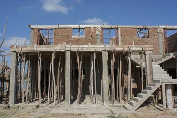 building yard in Africa