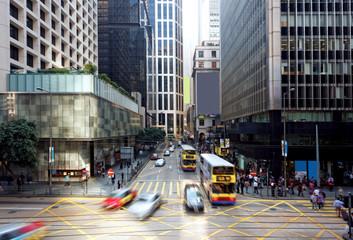 hong kong finance district