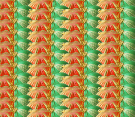 Background (Christmas decorations)