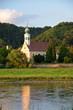 canvas print picture - Blick zur Kirche Maria am Wasser