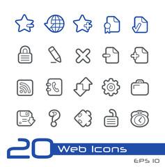 Web Icons // Line Series