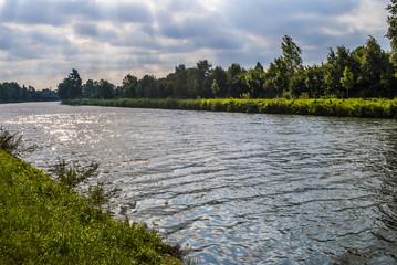 Sunbeams on the water